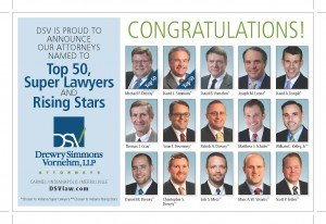 DSV Super Lawyer Ad 2016
